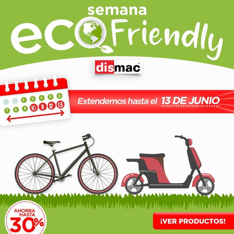 Semana Ecofriendly   Dismac electrodomésticos